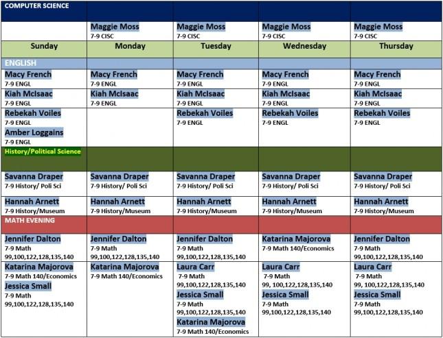 block 2 schedule 2.3