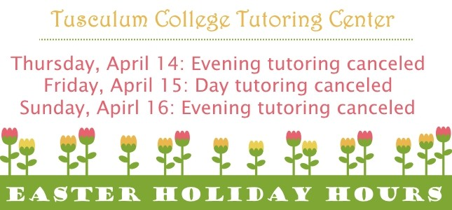 easter tutoring 2017