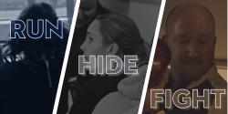 Run Hide Fight Graphic